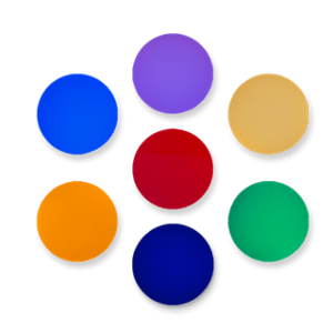 dichroic color filters landscape lighting