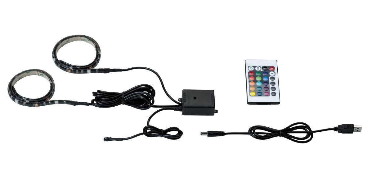 PAULMANN 707.06 LED-Strip mit USB- Anschluss und