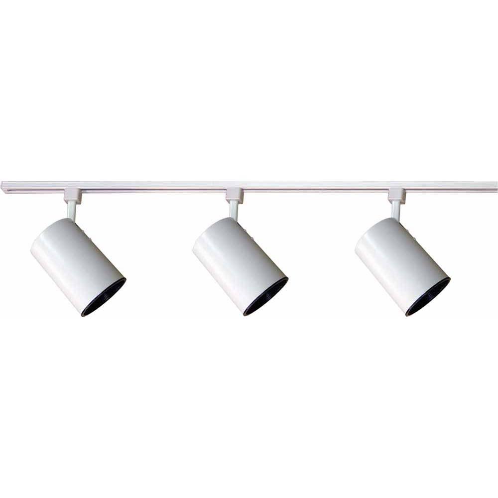 white track lighting. V2732-6 1-light White Track Lighting K