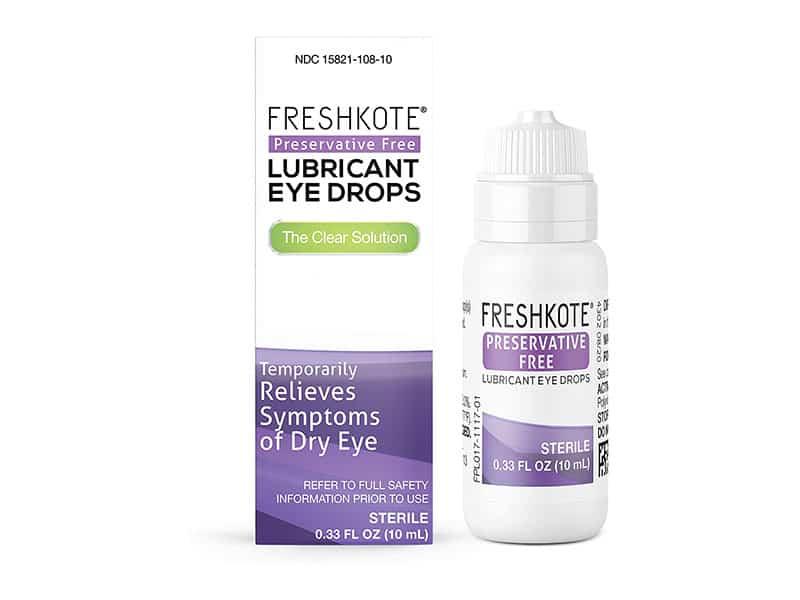 Freshkote Lubricant Eye Drops - Volunteer Eyecare