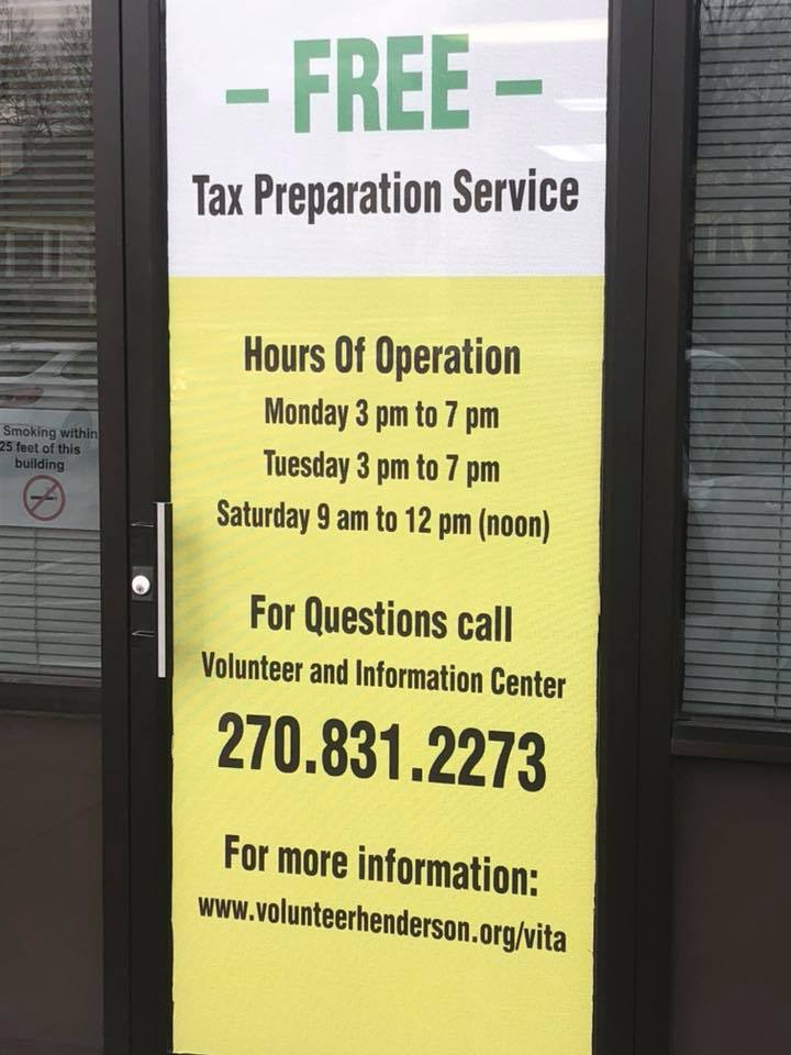 FREE Tax Preparation Assistance