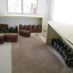 unused sewing machines in HomeEd storage