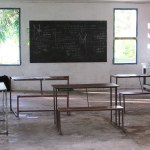 Inside the old Form 3 classroom