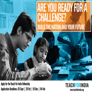 Teach For India fellowship – 2018, Webinar for Bhumi Volunteers