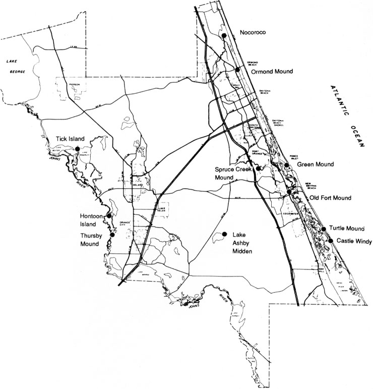 Volusia County's prehistoric sites