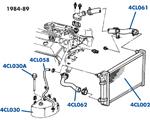 C4 Technical Diagrams, Volunteer Vette Corvette Parts