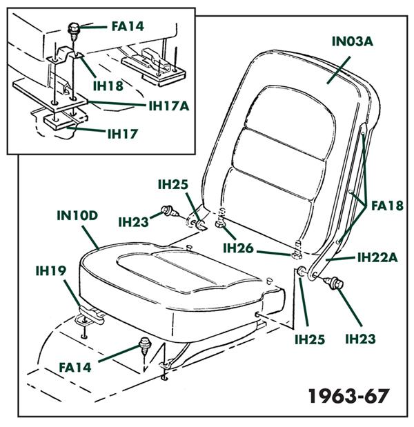 Corvette Parts C1 C2 And C3 Diagrams Corvette Accessories