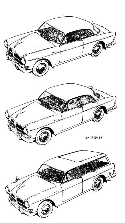 Volvo P1800 Manuals, Handbooks,Volvo classic cars