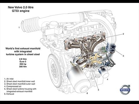 2002 Volvo S80 2 9 Engine, 2002, Free Engine Image For
