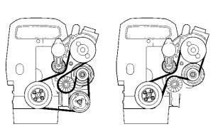 Serpentine Belt Diagram For 98 Volvo V70 | WIRING DIAGRAM