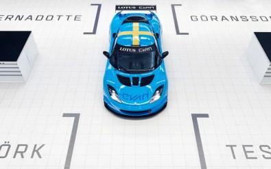 Team Lotus Cyan Racing ...