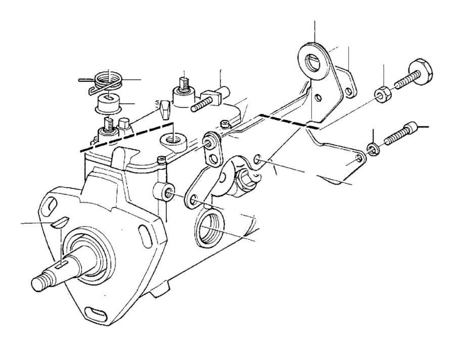 Subframe for seat, manual adjustment S70, V70