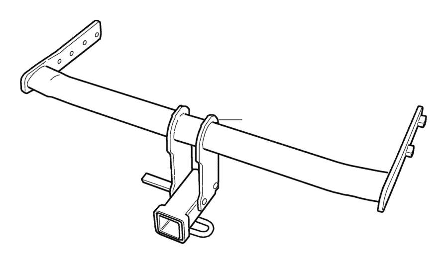 2008 Volvo XC70 Towing hook. Towbar, detachable. CA, CL