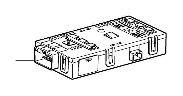 Volvo XC90 Control unit. Towbar, wiring. Trailer
