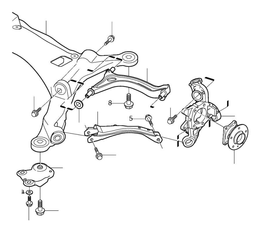 Suspension lowering kit V70, V70XC, XC70 TURBO Automatic