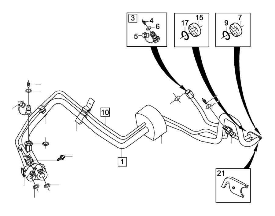 Volvo V50 Parts Diagram