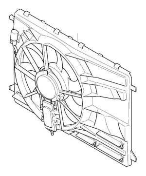 31368867  Volvo Electrical fan Shroud, Inclusive   Volvo Parts Webstore, Oak Park IL