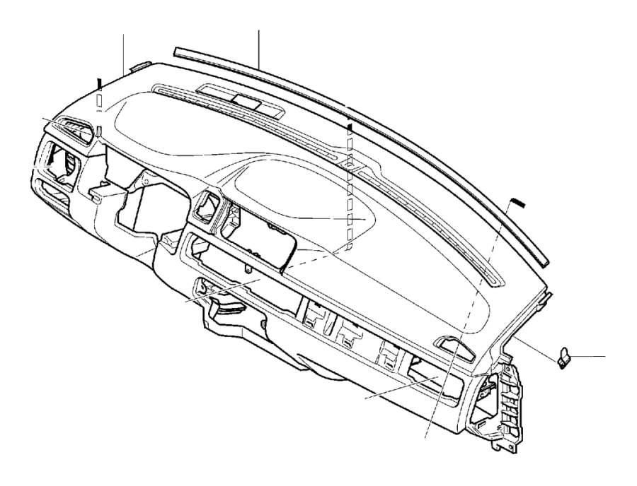 [Volvo S60 Wiper Cowl Vent Panel Drain 9190000 2001 2002