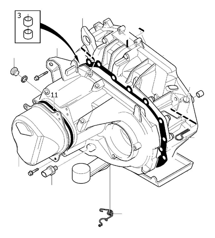 Volvo S40 2.3l DownDraught Carb Reverse light switch