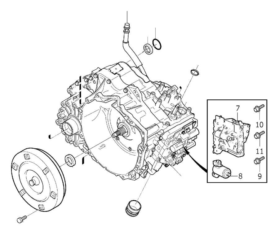 Search Volvo XC90 Transmission Auto Parts