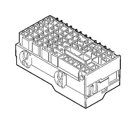 Volvo V70 XC Receptacle housing. Socket housing. Stability