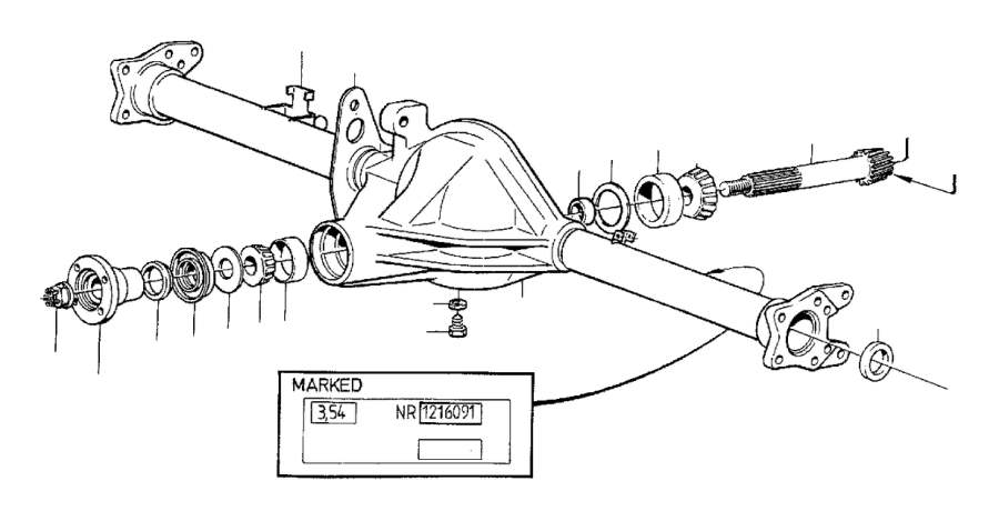 Volvo 240 Flange lock nut. Genuine Classic Part. Counter