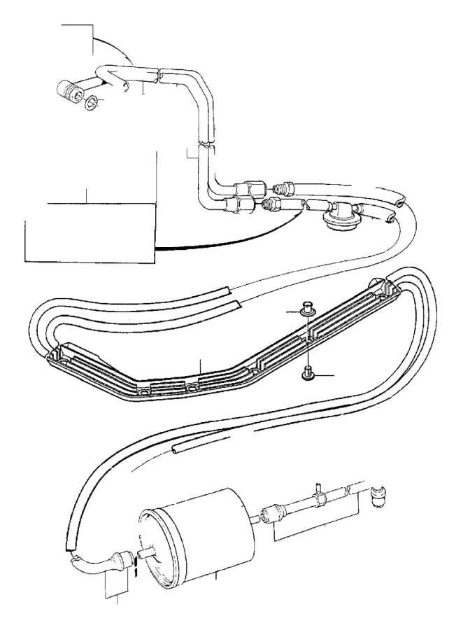 1994 Volvo Pressure pipe. Genuine Classic Part. Pulse