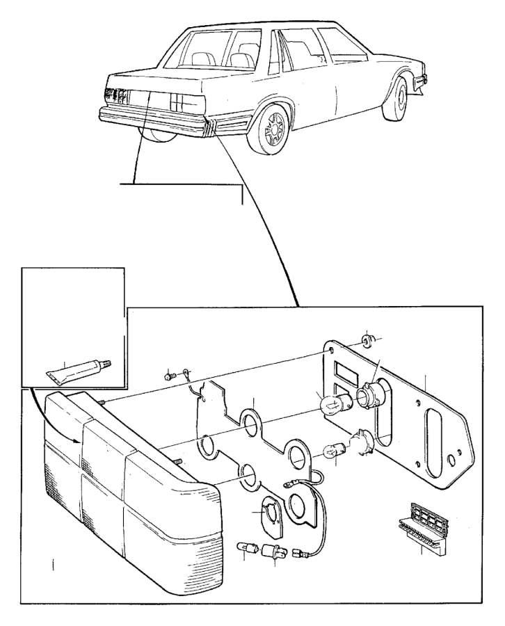 Volvo 240 4DRS W/O S.R Insulator. Genuine Classic Part