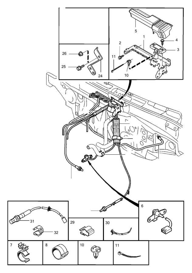 fuel supply diagram for 198083 models 106k