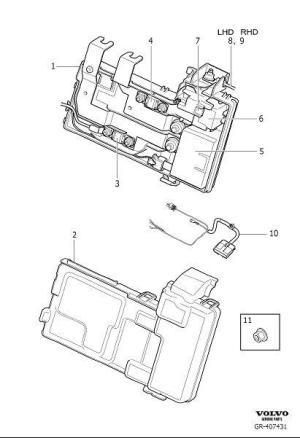 31409364  Volvo Diode StartStop, Primary   Volvo Parts Webstore, Oak Park IL