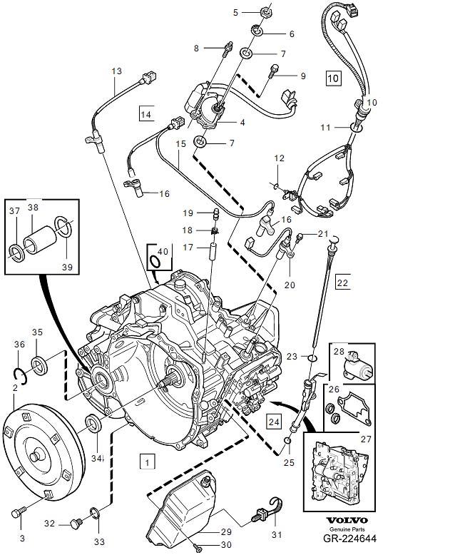 Volvo Coil Wiring