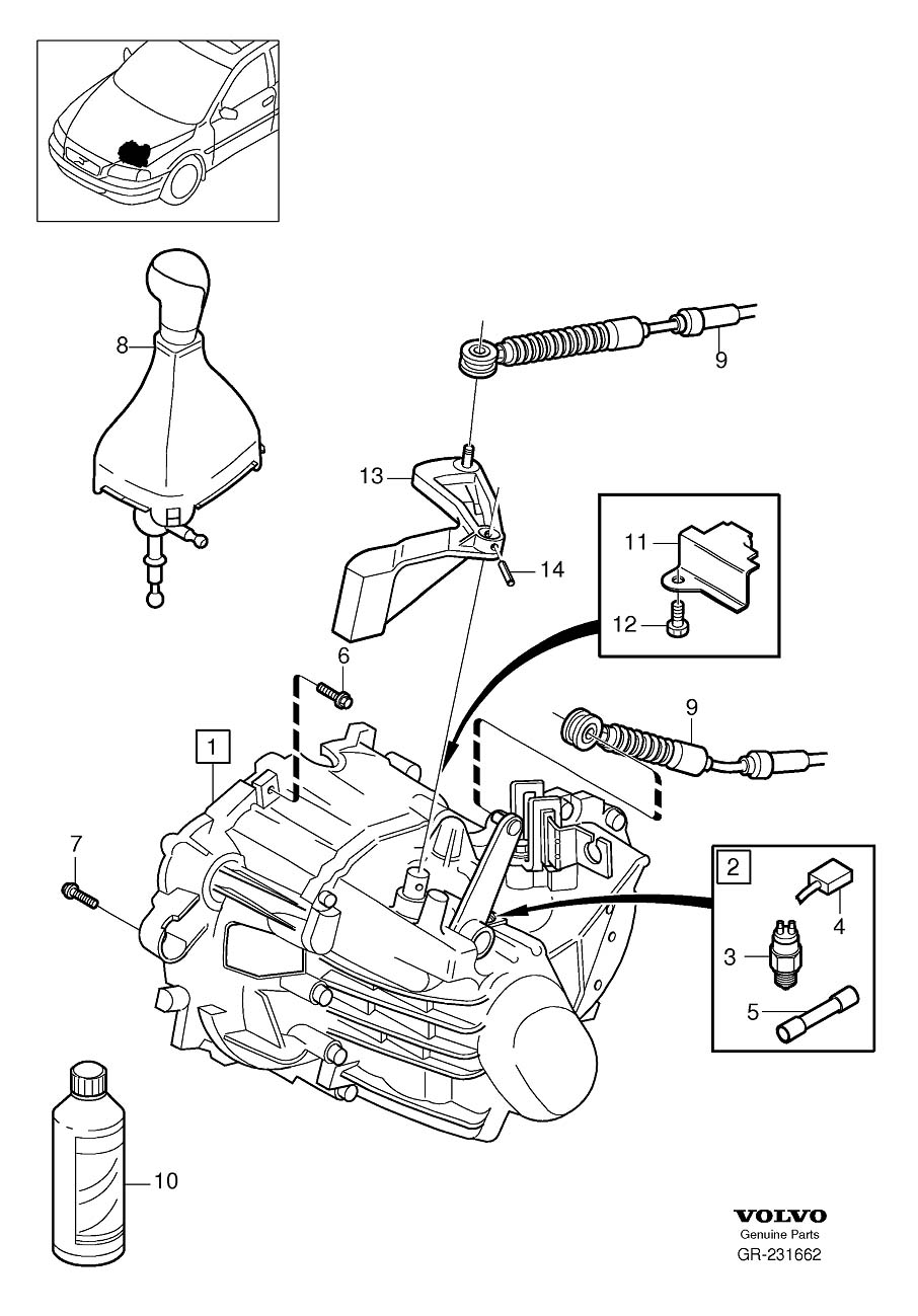 Service manual [Repair Manual Transmission Shift Solenoid