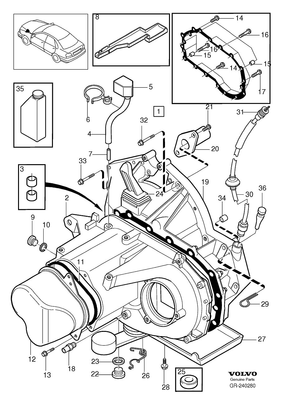 Service manual [Exploded View Of 2001 Volvo S40 Manual