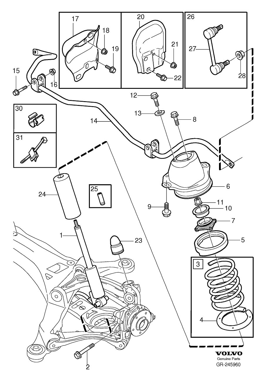 2005 volvo xc70 engine diagram