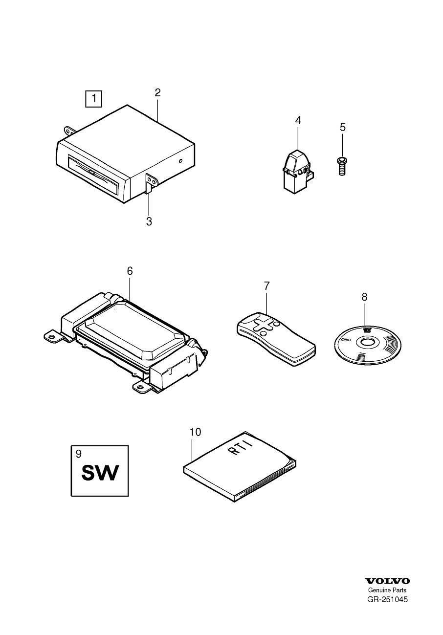 2004 Volvo XC90 Navigation System Instruction Manual