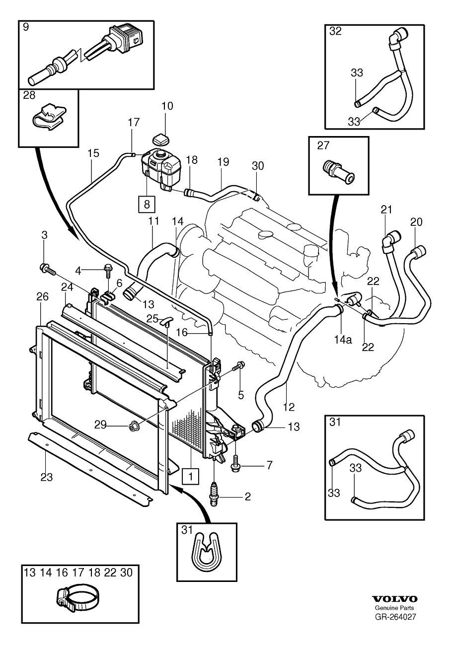 2001 Volvo S60 Radiator Diagram 2002 Volvo S60 Wiring Diagrams