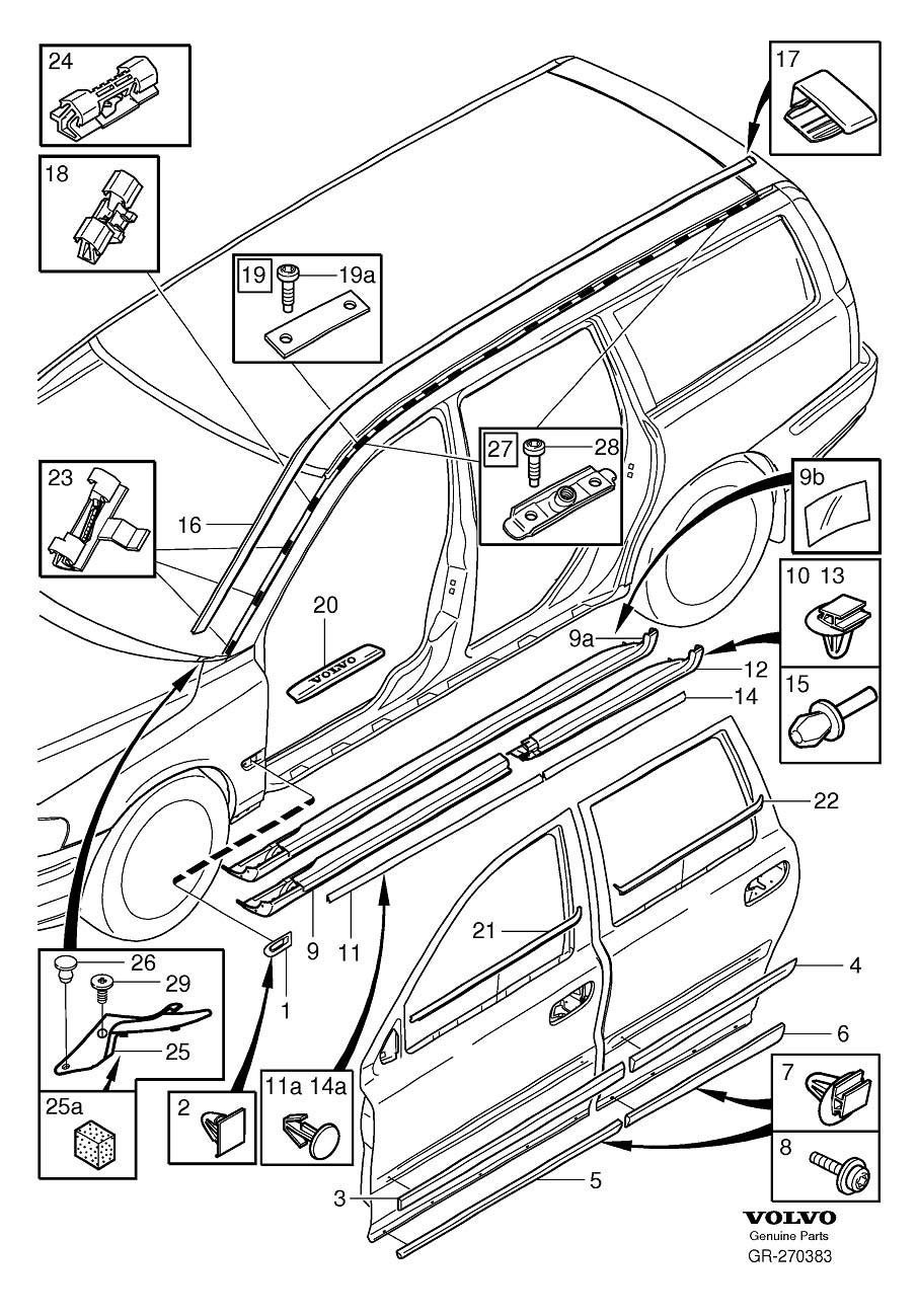 2001 volvo s80 sunroof wiring