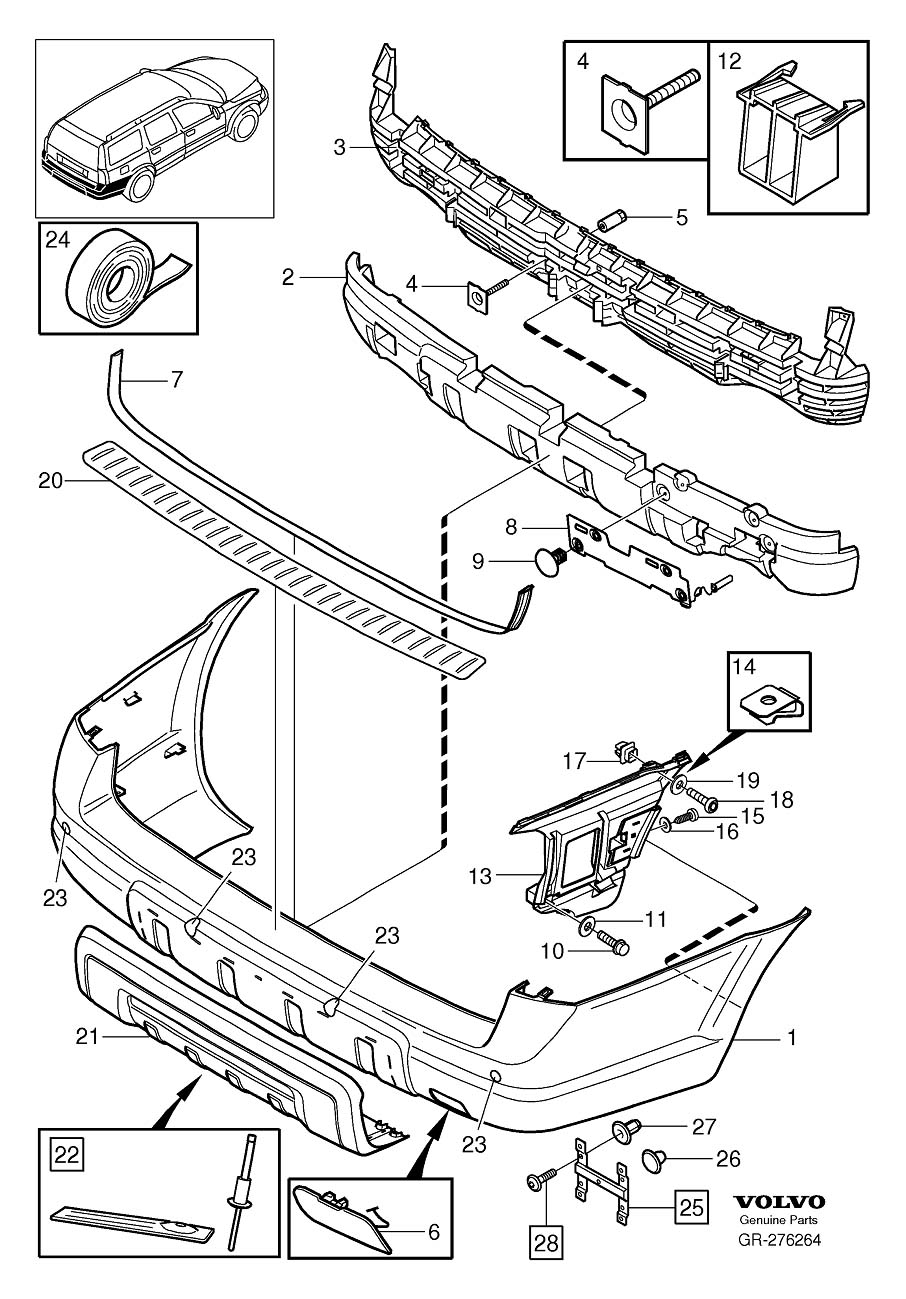 Service manual [How To Take Bumper Off 2001 Volvo S80