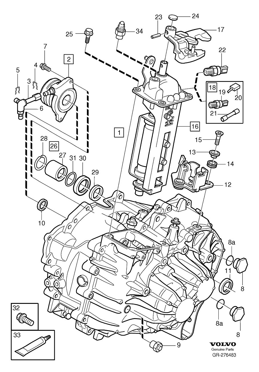 1998 Volvo S70 Vacuum Hose Diagram, 1998, Free Engine