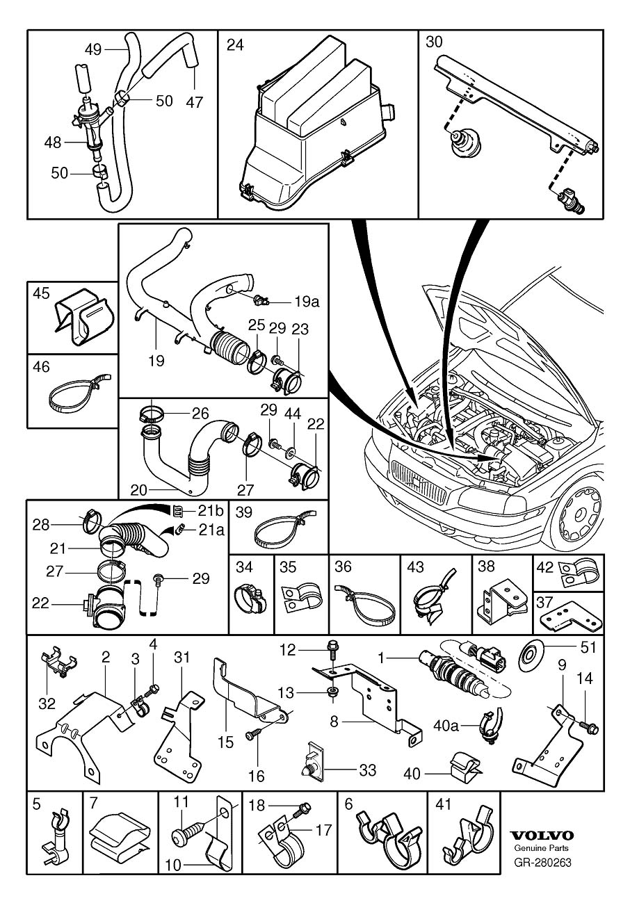 Volvo V70 Fuel system