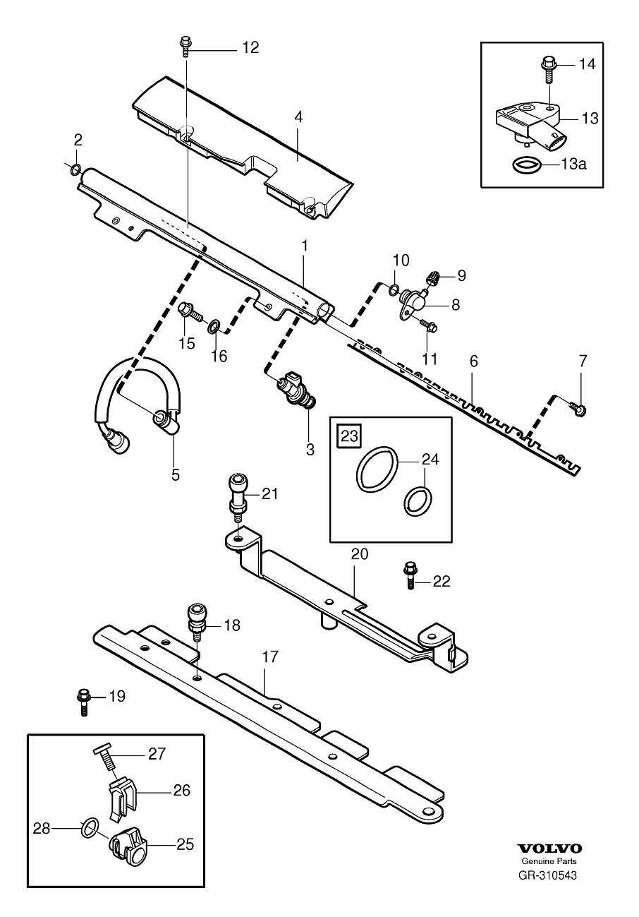 volvo xc90 v8 engine diagram