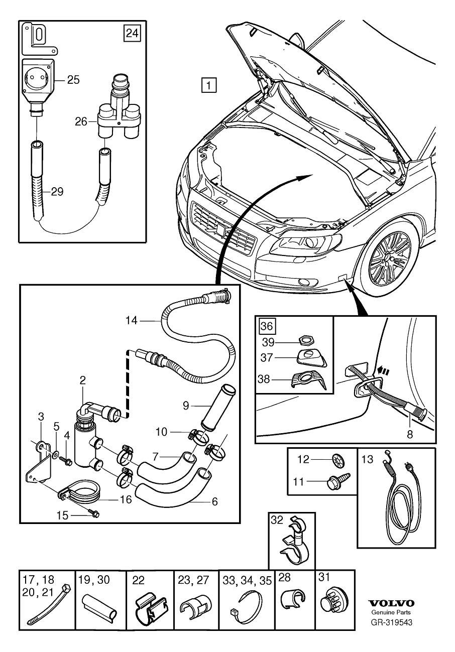 [DIAGRAM] 2001 Volvo S8engine Diagram FULL Version HD