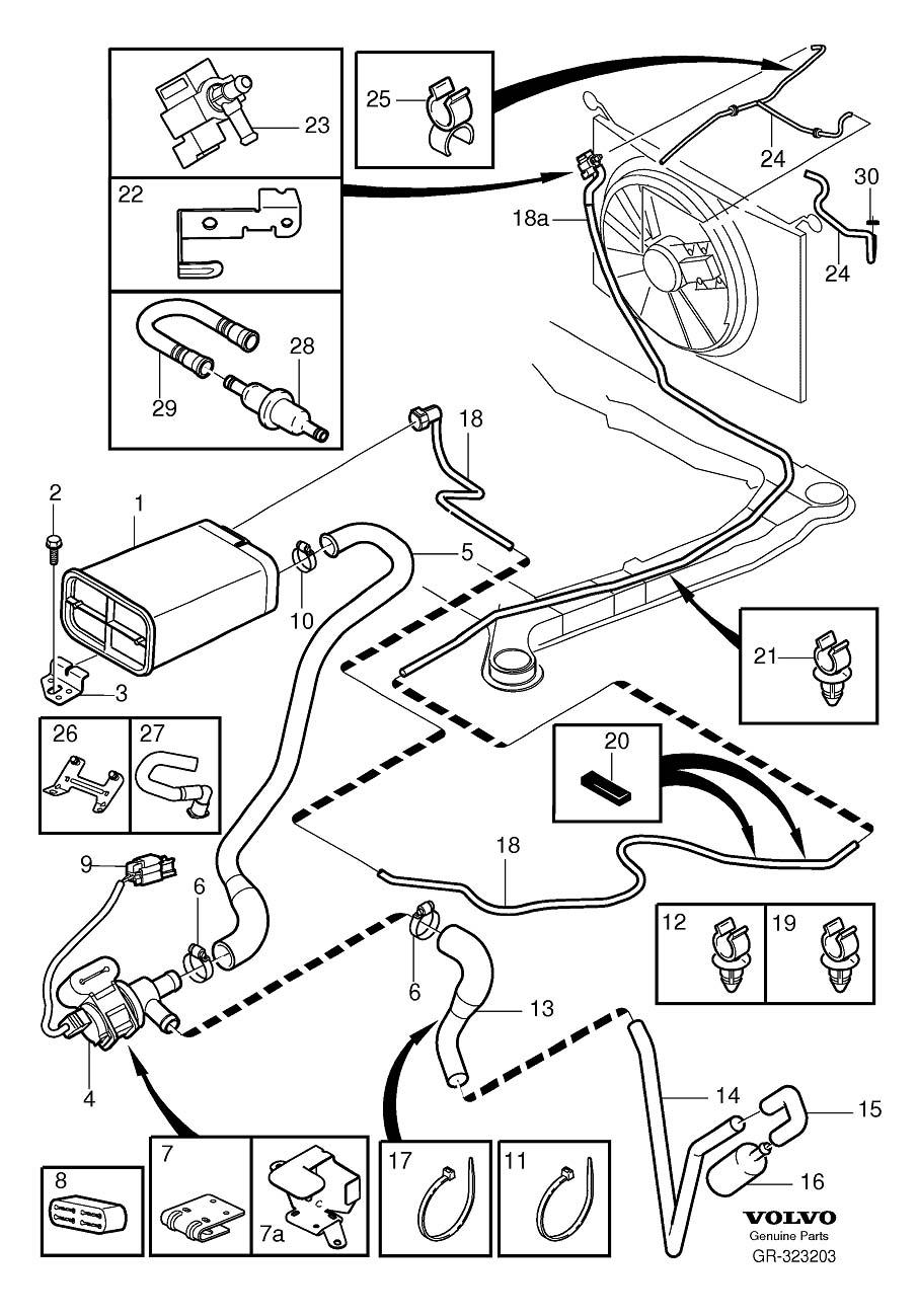 hight resolution of 2003 volvo s60 evap hose likewise 2004 volvo s60 wiring diagram as volvo s60 evap valve
