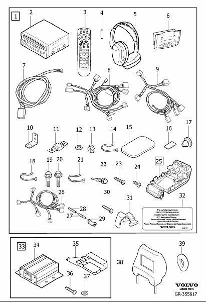 Volvo Xc90 Rse Wiring Harness. Volvo. Auto Wiring Diagram