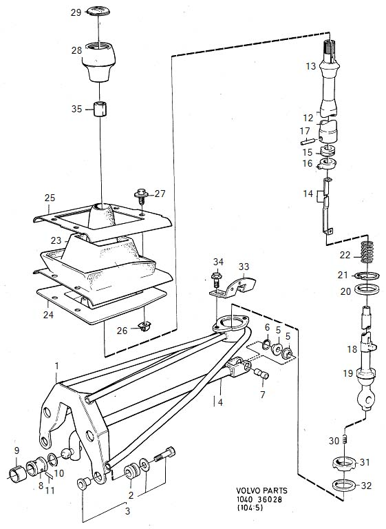 Volvo Manual Gear