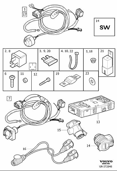 [DIAGRAM] Volvo Xc90 Wiring Diagram Uk FULL Version HD