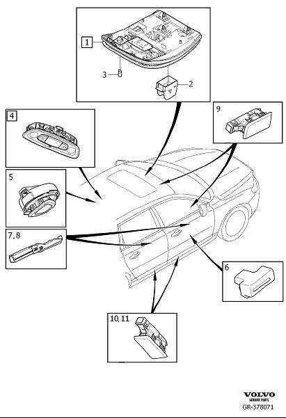 Volvo S80 Rear Bumper Parts Diagram. Volvo. Auto Wiring