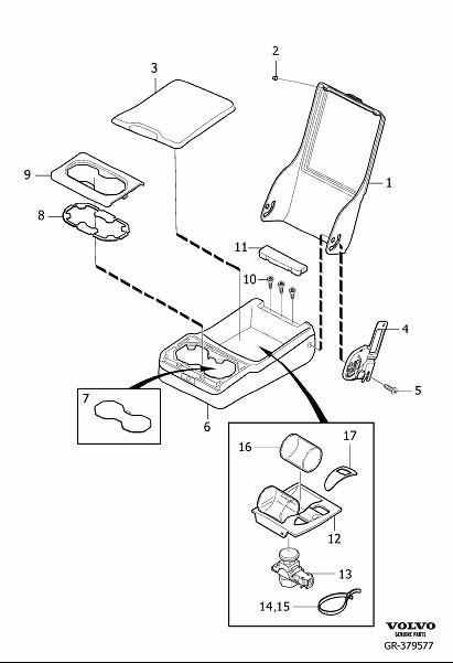 Rear Seat Armrest
