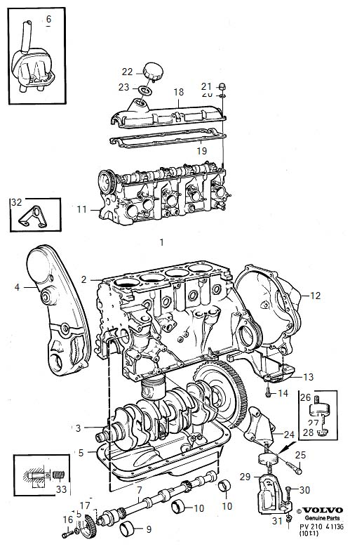engine diagrams for cars