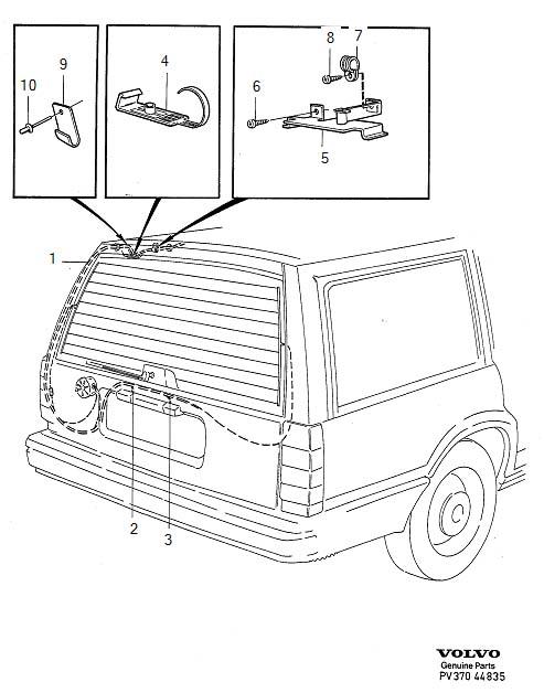 2001 Volvo S40 Fuse Box Diagram